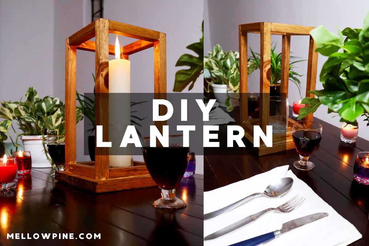 DIY Wedding Lantern Centerpieces