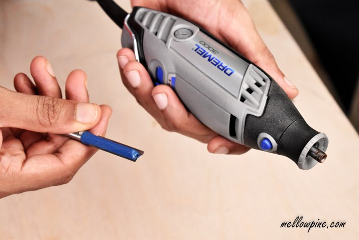 router bit and dremel