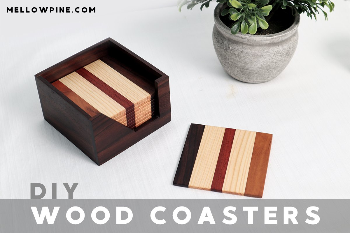 How To Make Wood Coaster  and a Coaster Holder