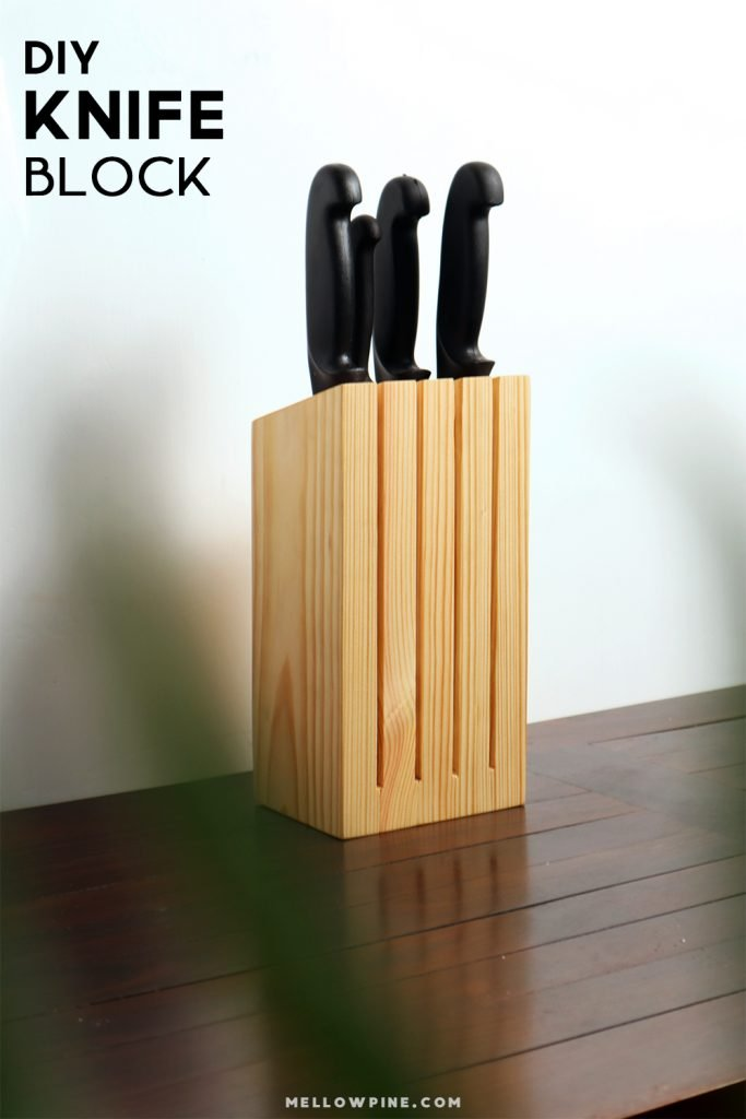 DIY Knife Block Pin