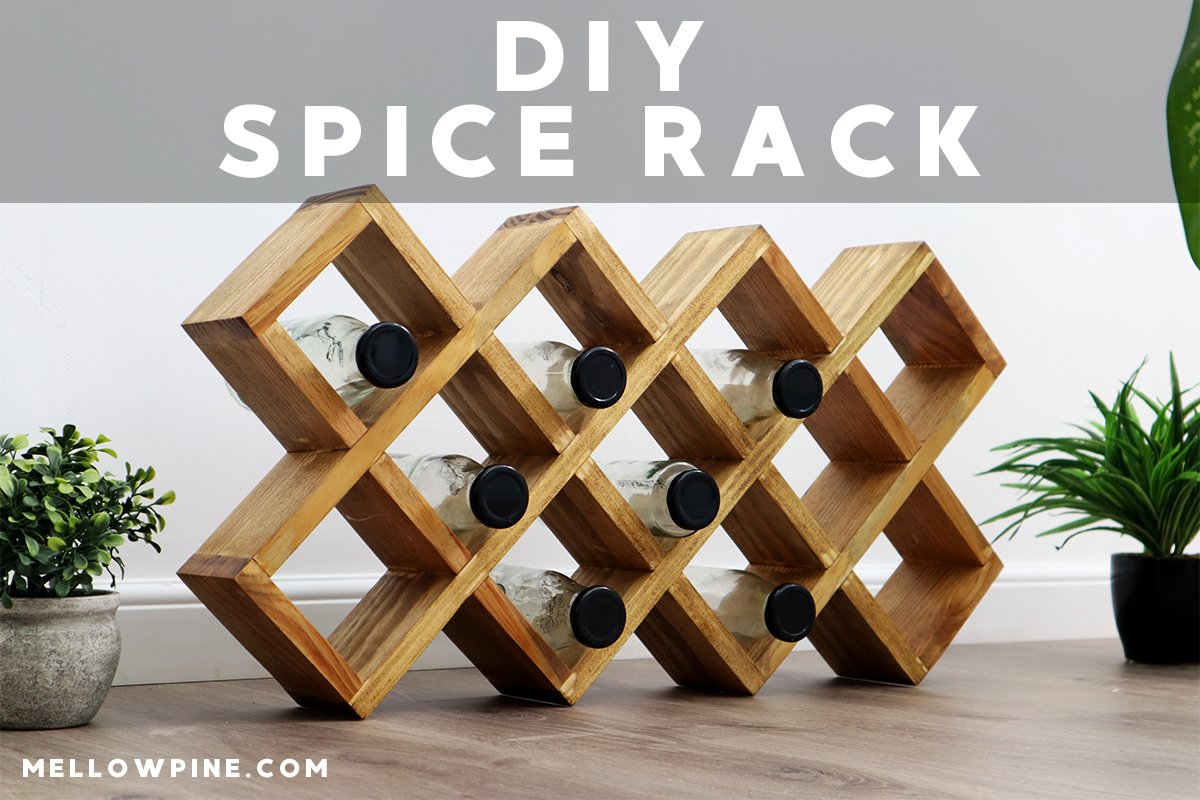 How To Make a Small Wooden Spice Rack