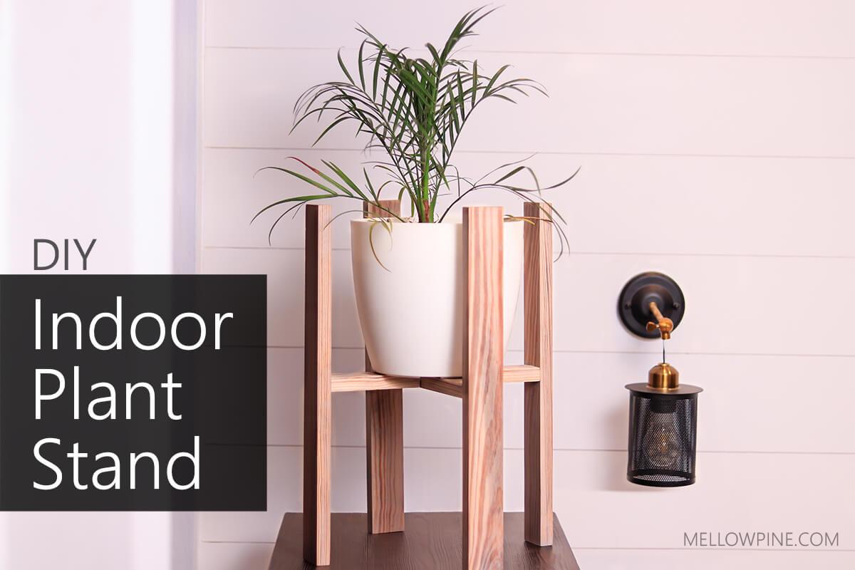 DIY Indoor Plant Stand