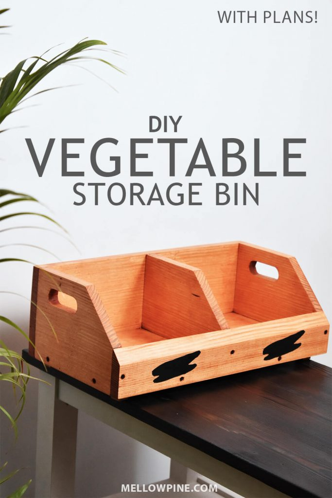 DIY Vegetable Storage Bin