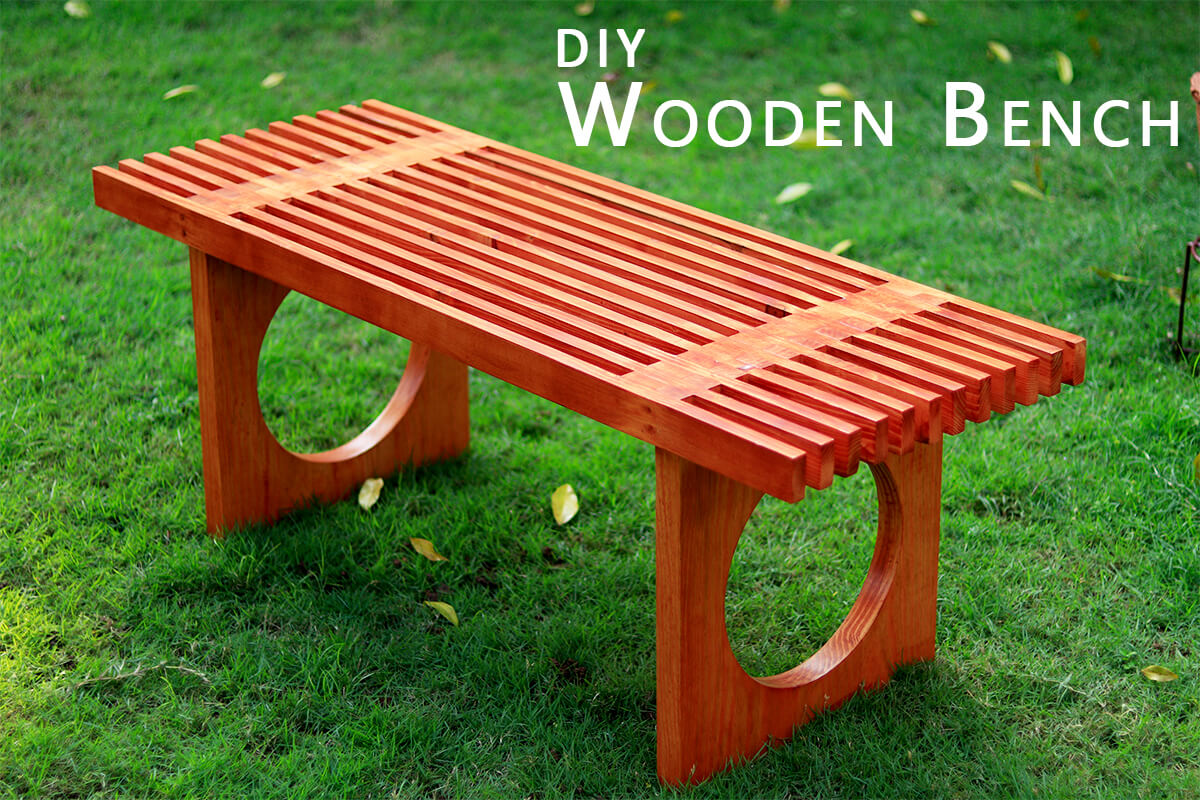 How to Build an Indoor Bench-With Plans