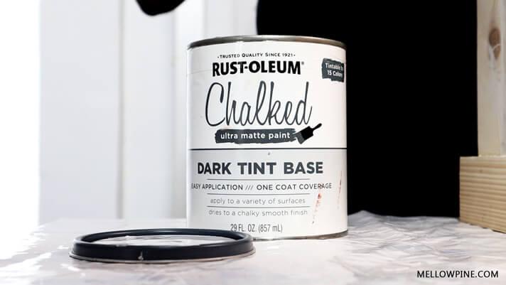 Rustoleum Chalked Paint