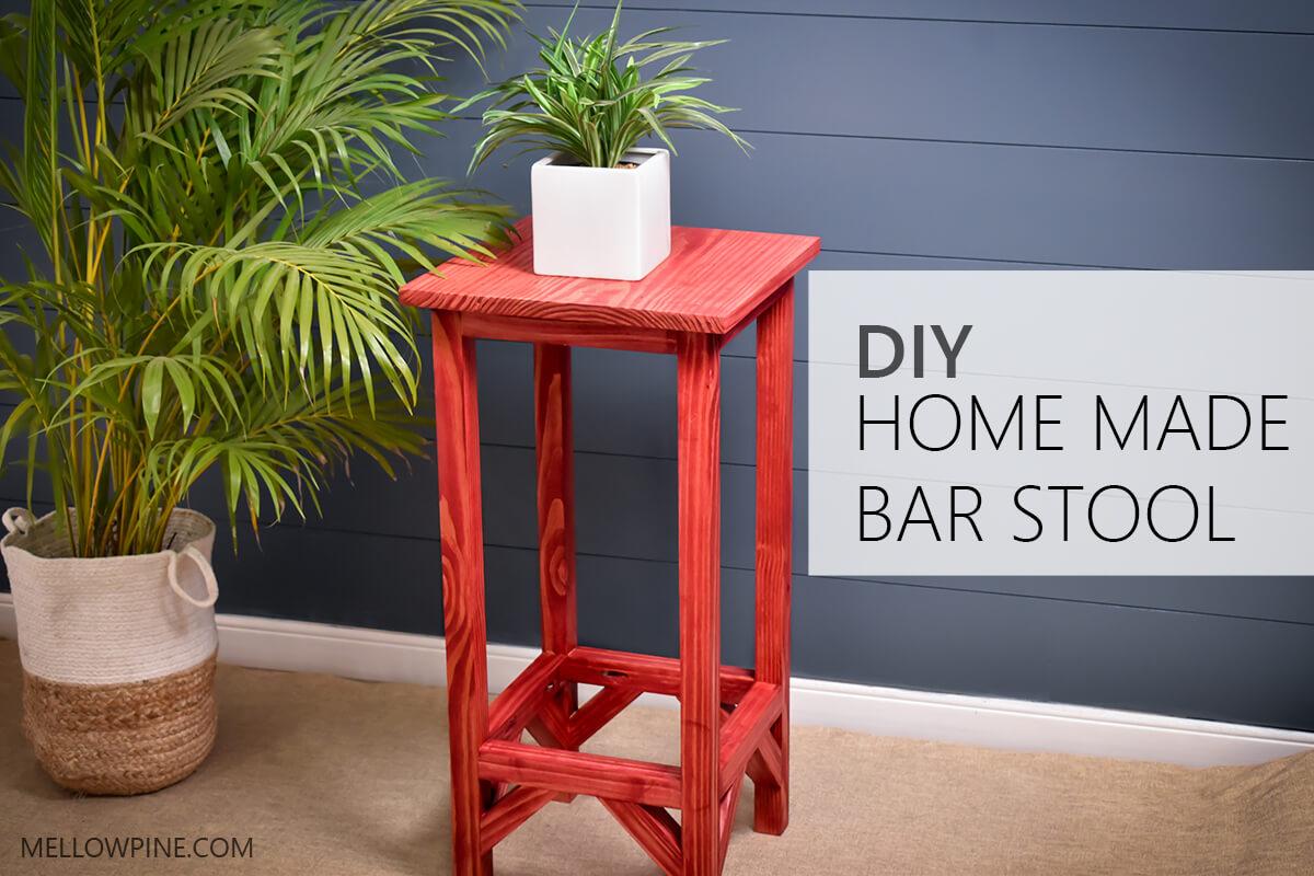 Homemade Bar Stool DIY