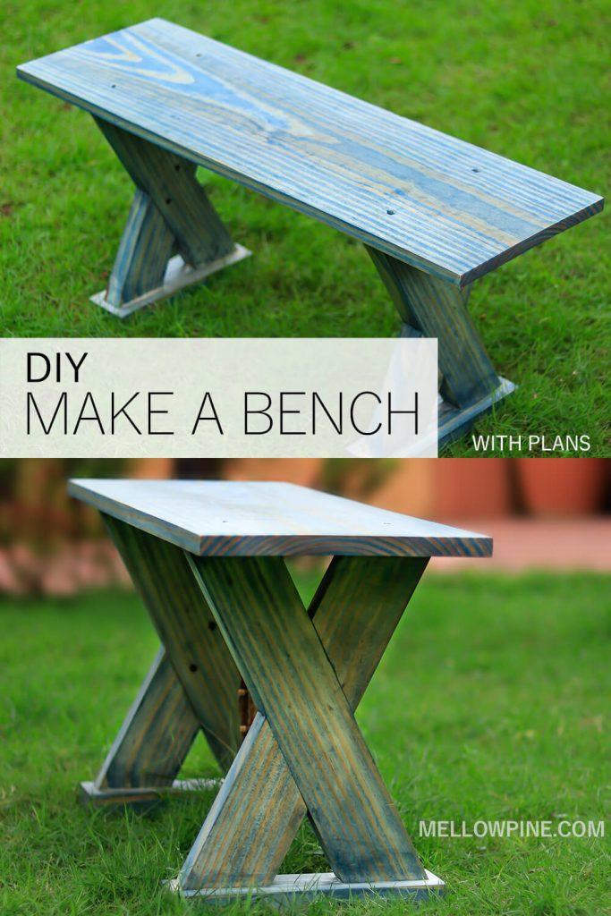 DIY Make a Bench