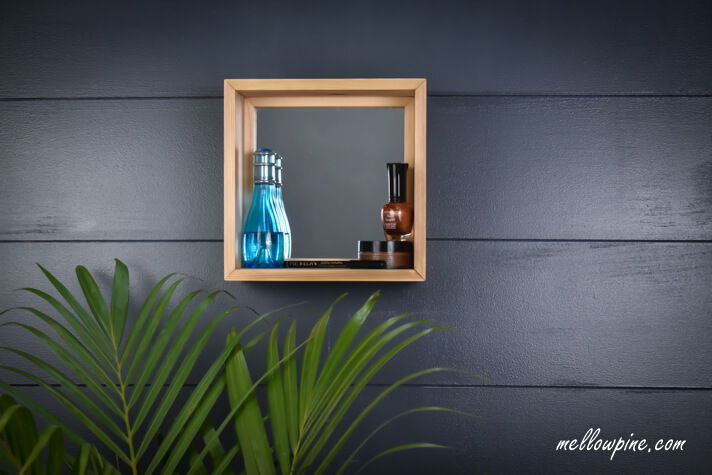DIY Wall Mounted Box Mirror