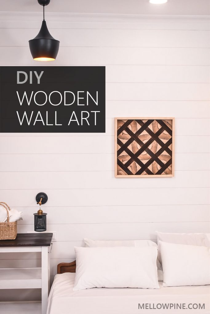 DIY Wooden Wall Art