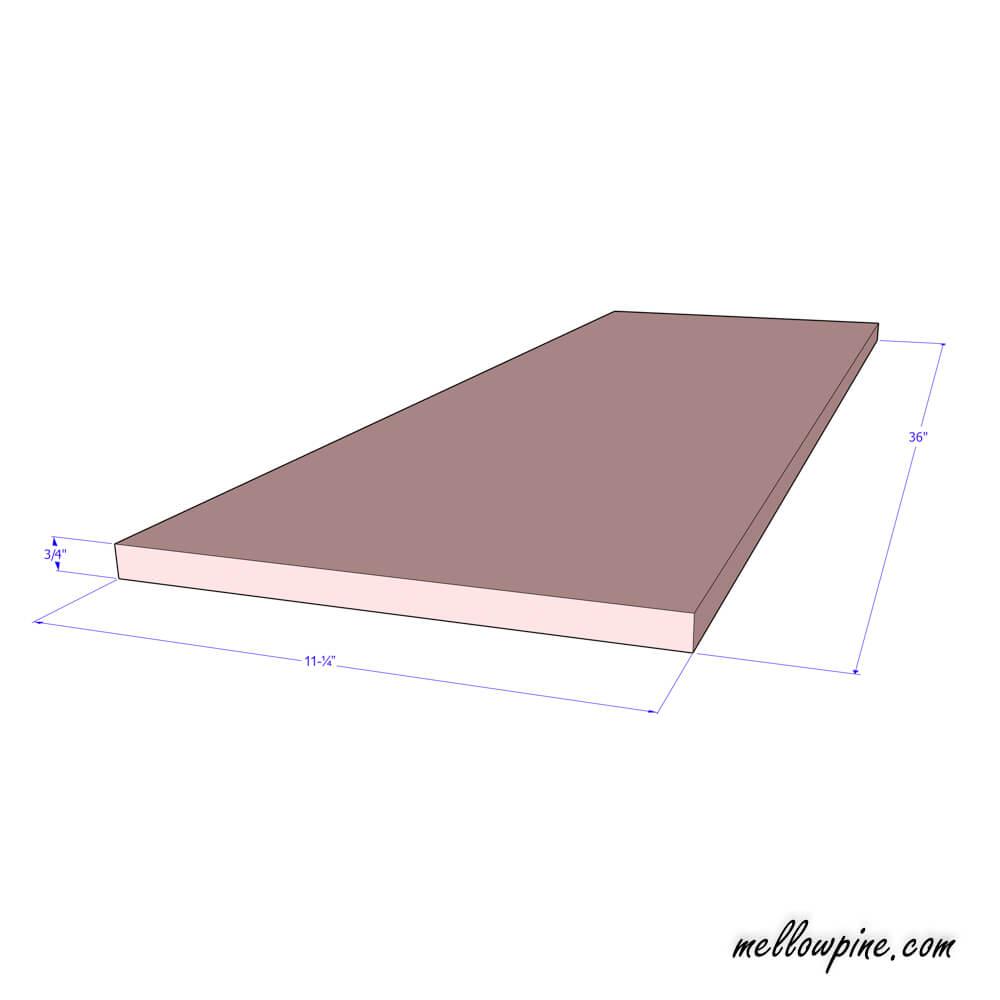Top Piece Plan