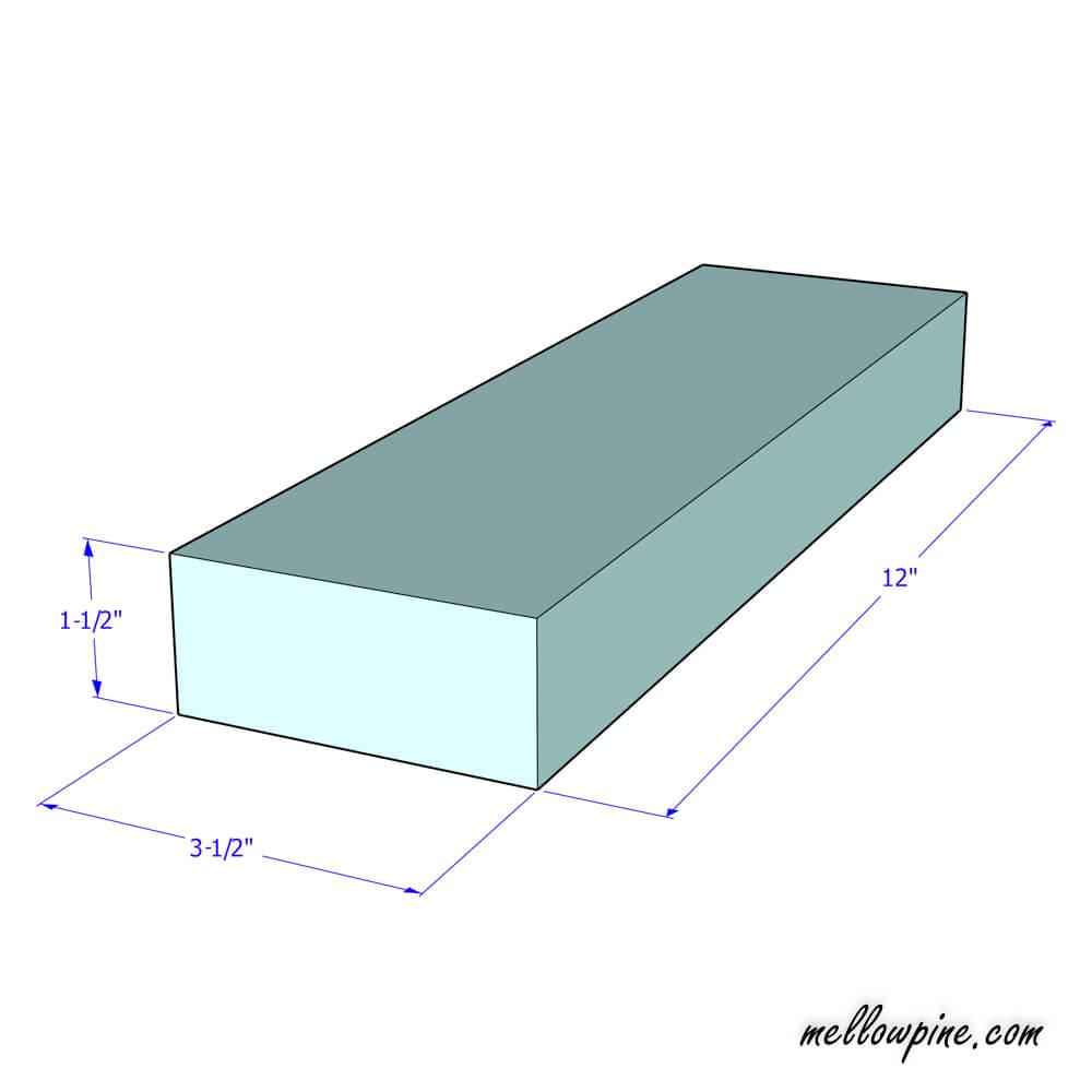 X Bench base Plan