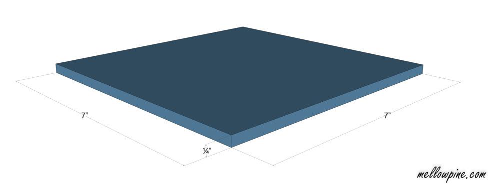 Base Piece Plan