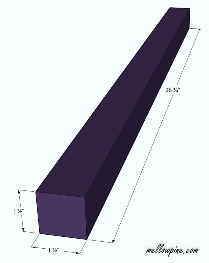 Leg Piece Plan
