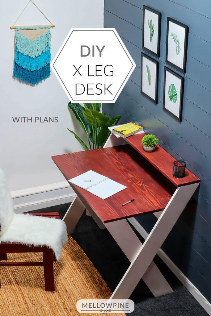 DIY X Desk