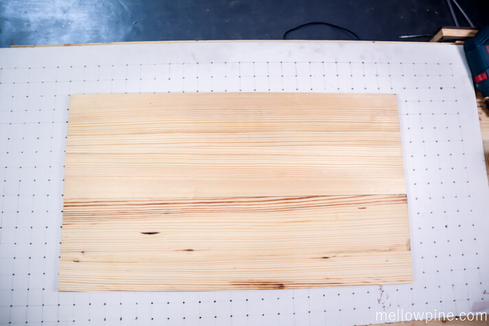 Cofee Table Top after glue up
