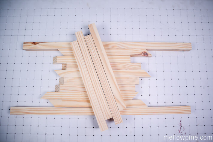 Coffee Table Frame Pieces-Sized