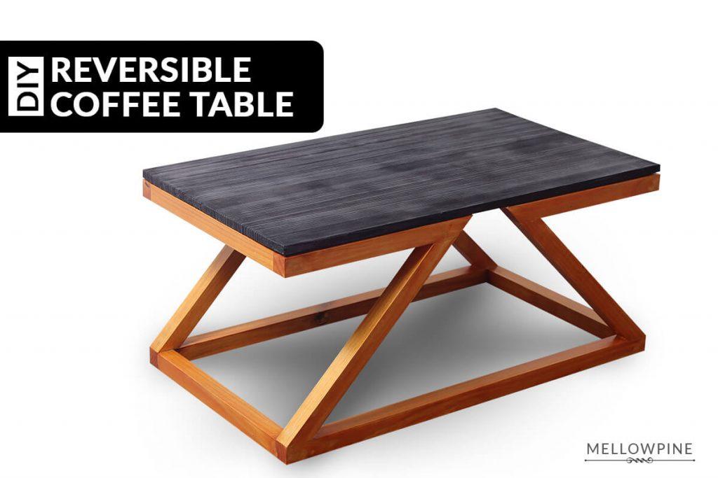 DIY Reversible Coffee Table