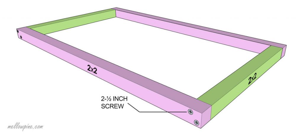 Joining the Z Frame of Table-Bottom Rectangle
