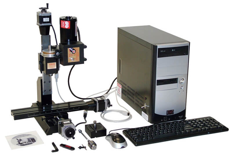 Sherline 12 inch Deluxe CNC System