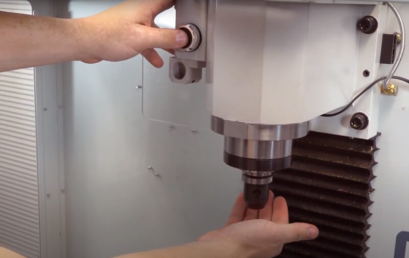 Tormach Power Drawbar helps change tooling with the push of a button